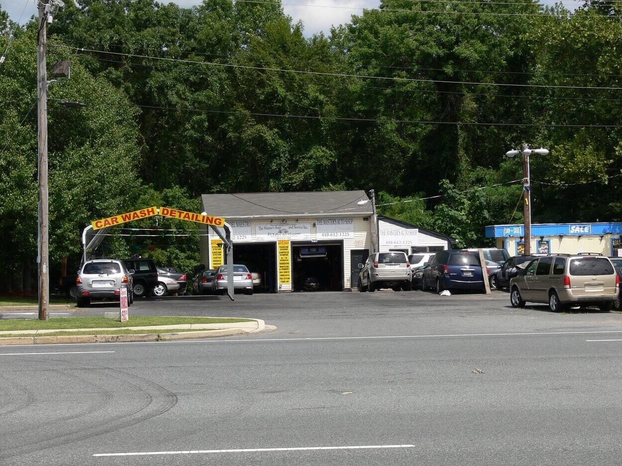 For Sale Used Glass Car Wash Building