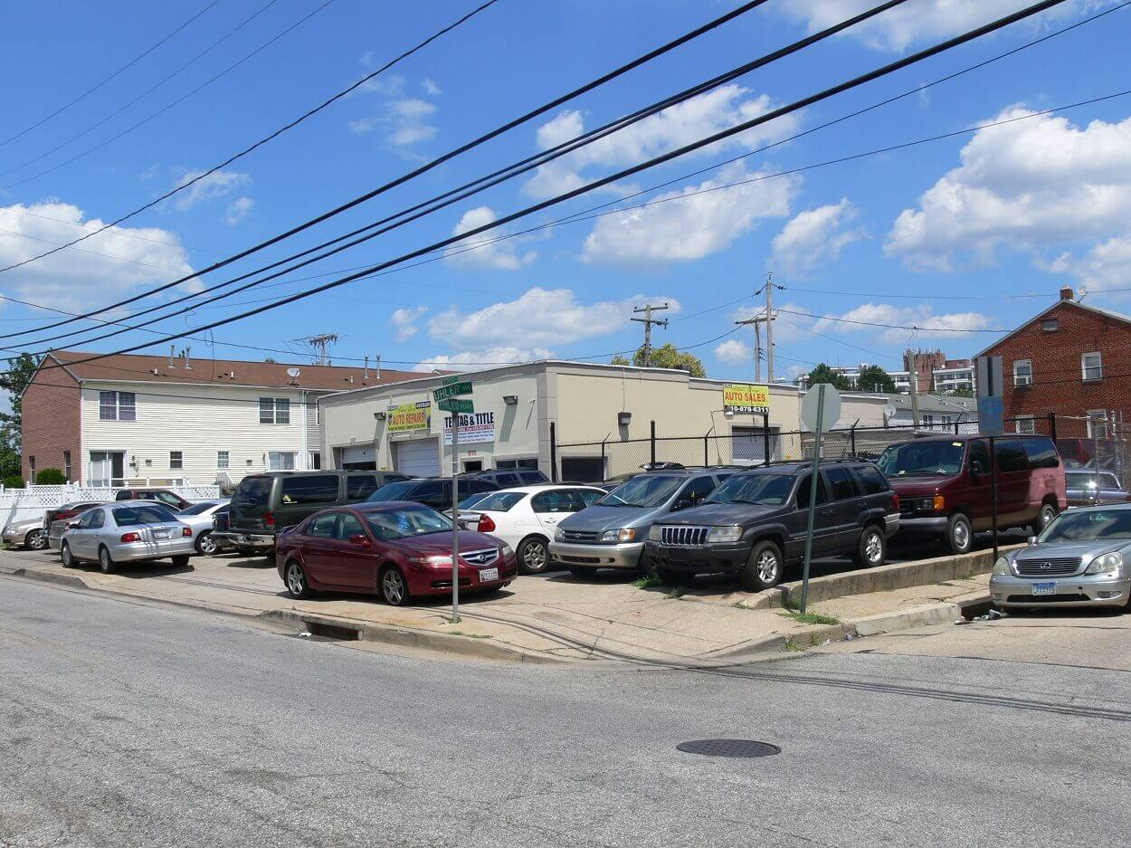 P p propery management llc utility lot for Exclusive motor cars baltimore md 21215